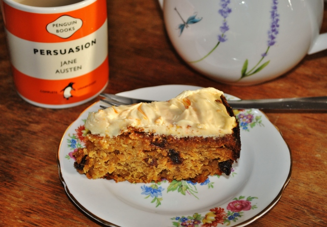 Carrot cake for afternoon tea