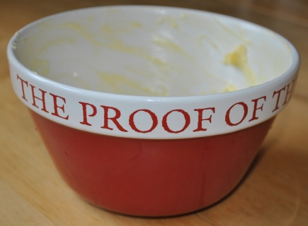 The Proof of the Pudding bowl 1