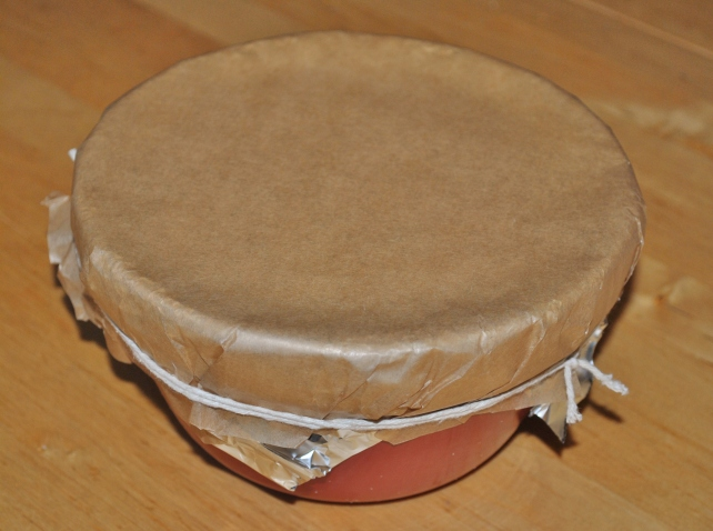 Storing christmas pudding in cloth