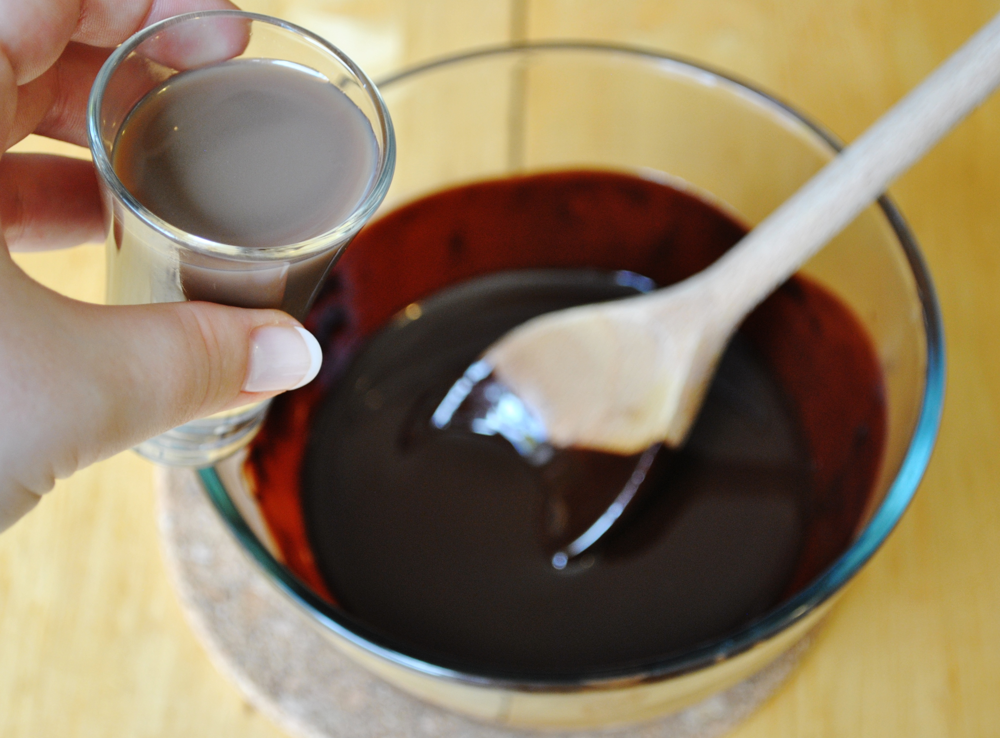 chocolate liquor | The Proof of the Pudding