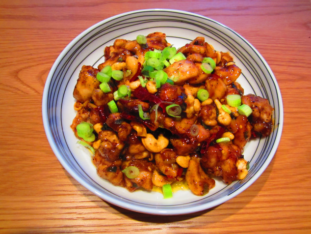 Gluten-free Kung Pao chicken