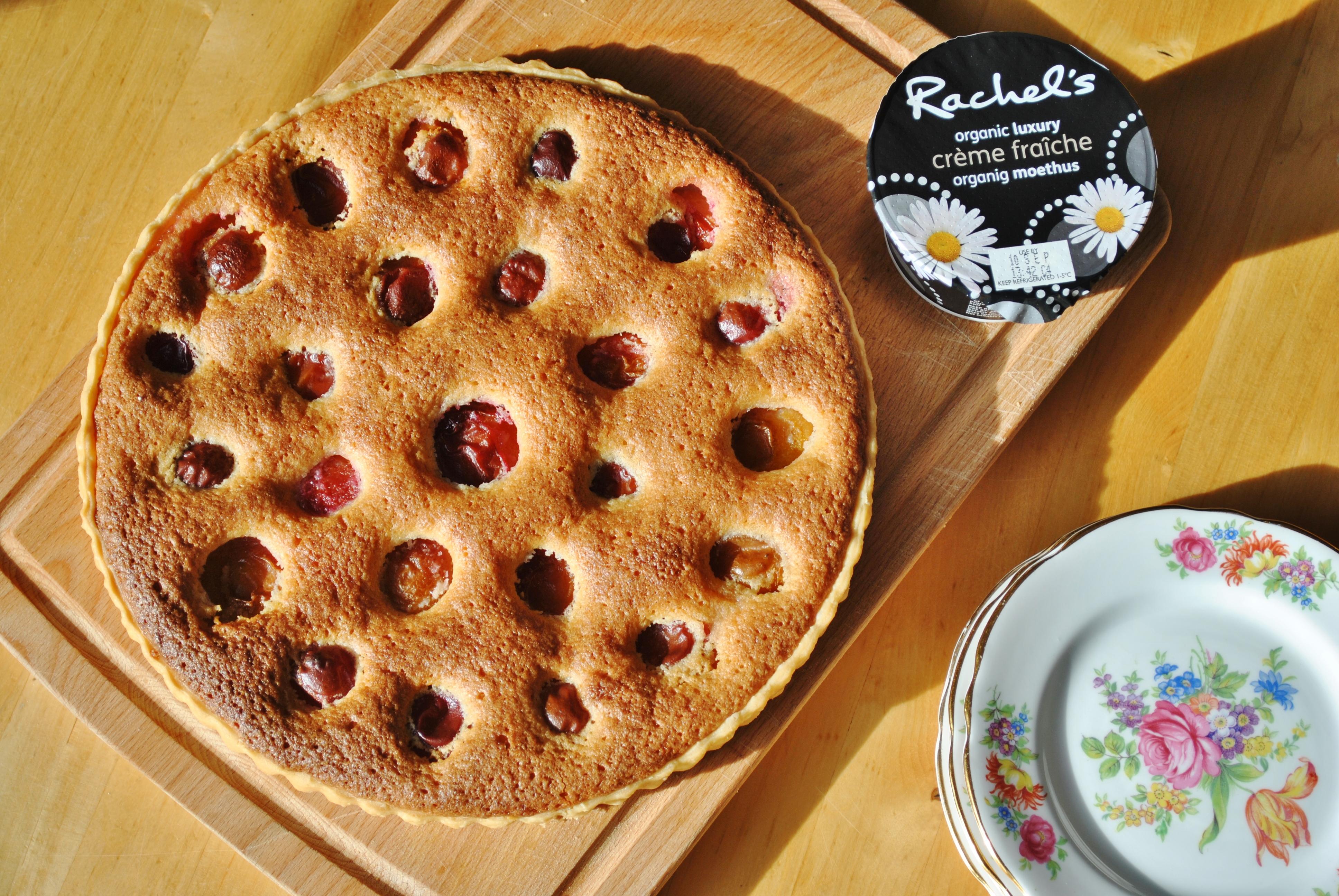 Victoria plum and frangipane tart 2