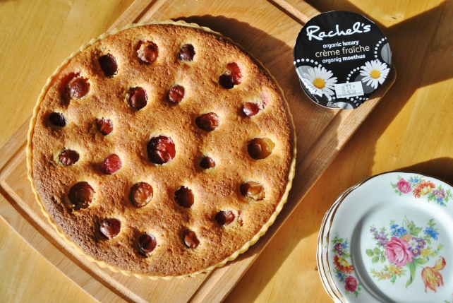 Victoria plum and frangipane tart | The Proof of the Pudding
