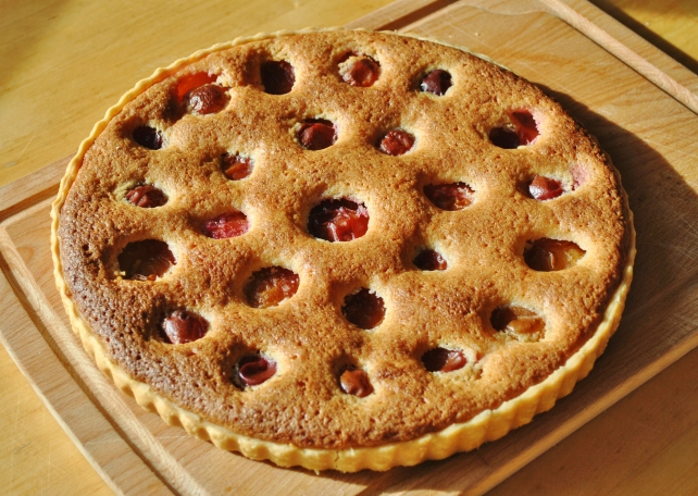 Victoria plum and frangipane tart