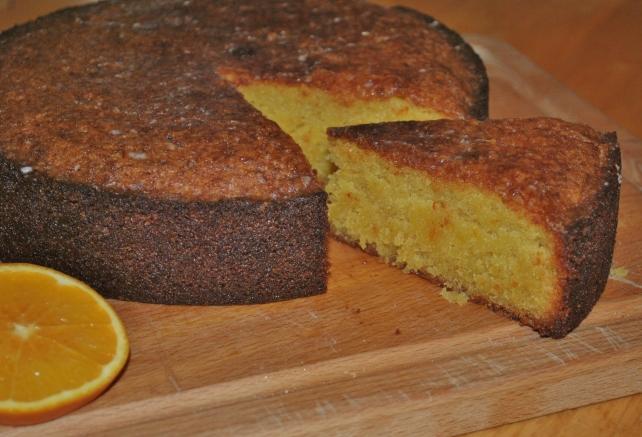 Gluten-free orange drizzle cake 3