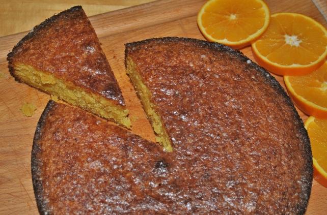 Gluten-free orange drizzle cake 4